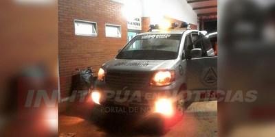 CNEL. BOGADO: MOTOCICLISTAS FUERON EMBESTIDOS Y ABANDONADOS A SU SUERTE
