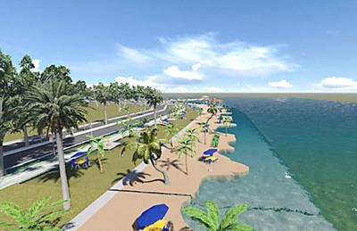 Desempolvan proyecto de costanera en km 8 a orillas del lago Acaray y analizan concretarlo