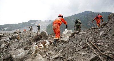 Sube el balance de muertos por deslave en el suroeste de China