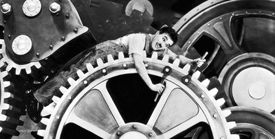 Proyección de cortometrajes de Charles Chaplin en la Manzana de la Rivera