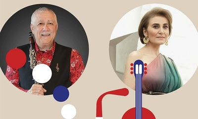 Berta Rojas y Paquito de Rivera homenajean a Mangoré