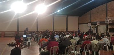 Intendente Quiñonez devolvió con energía akajepeté de un Pte. de seccional y Ministro de la Juventud
