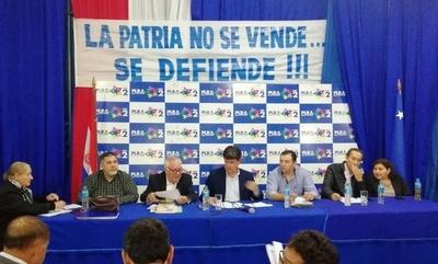 """HOY / PLRA culpa a Mario Abdo por firma del acta bilateral y """"pide cabezas"""" de consejeros de Itaipú"""