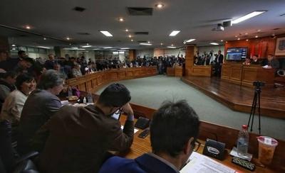 """HOY / Buscan eliminar el """"negocio de las paradas"""" en Asunción"""