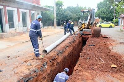 ESSAP inició segunda etapa de rehabilitación de red cloacal en Luque