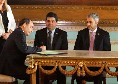 Juró Antonio Rivas Palacios como nuevo ministro de Relaciones Exteriores