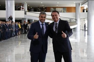 Bolsonaro dijo estar 'dispuesto a hacer justicia' en Itaipú