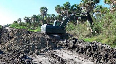 MOPC anuncia que reparará caminos en varios distritos de Alto Paraguay