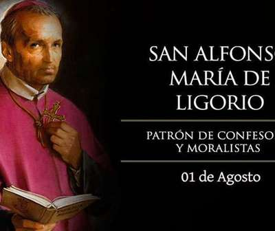 Hoy celebramos a San Alfonso María de Ligorio, patrono de los abogados.