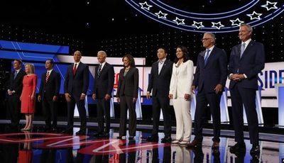 Salud e inmigración dividen a demócratas en segunda noche de debate