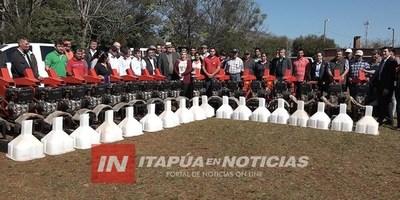 ENTREGAN FORRAJERAS INDUSTRIALES A COMITÉS DE PRODUCCIÓN DEL DEPARTAMENTO