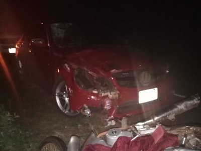 Accidente en ruta deja dos fallecidos en General Delgado