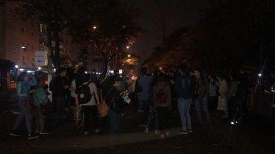 Protesta genera caos en el tránsito en San Lorenzo
