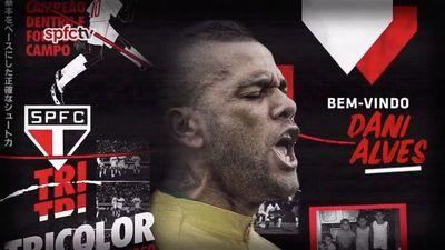 El São Paulo anuncia a Dani Alves