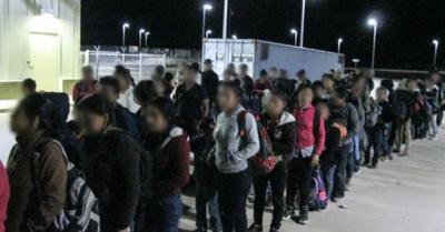 Gran redada de migrantes en Texas