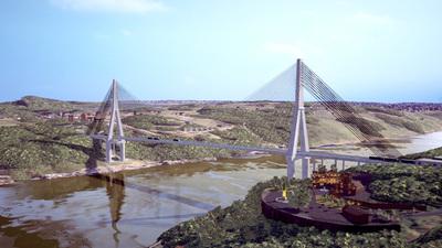 Obras del segundo puente sobre el río Paraná se iniciarán en breve
