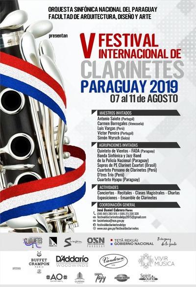 La OSN presenta desde este miércoles el Festival Internacional de Clarinetes