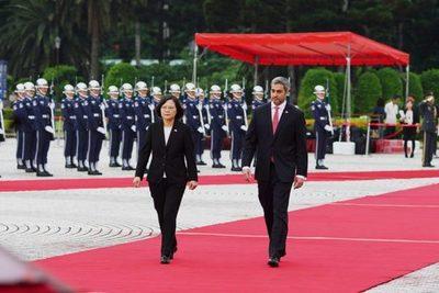 China-Taiwán felicita al presidente y a todas las partes por defensa de principios democráticos