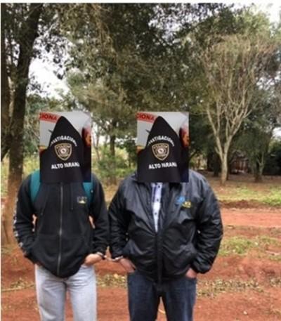 Funcionarios de INDERT detenidos tras recibir supuesta coima