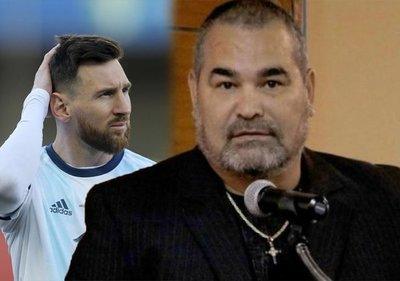 José Luis Chilavert sale al cruce tras la sanción de Conmebol a Messi