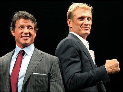 Stallone y Lundgren trabajarán juntos en una serie de acción