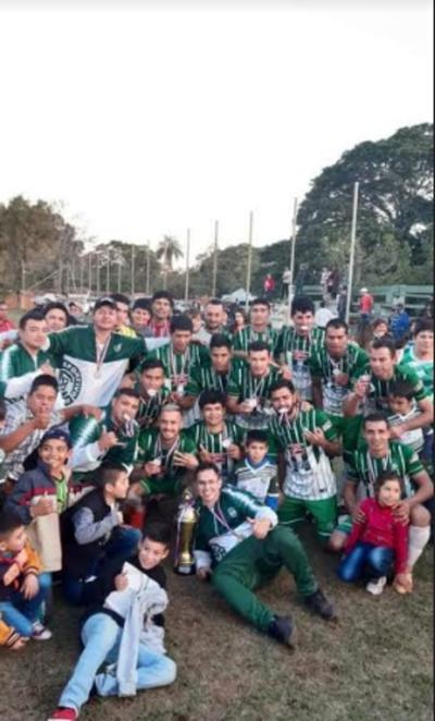 Las distintas ligas del Departamento de Concepción van culminando sus torneos
