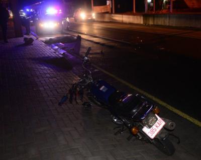 Accidente fatal en San Lorenzo