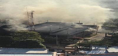 Incendio en subestación de la ANDE