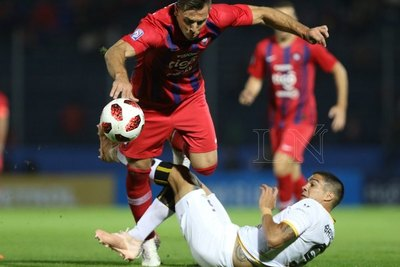 En un intenso juego, Cerro y Guaraní empataron