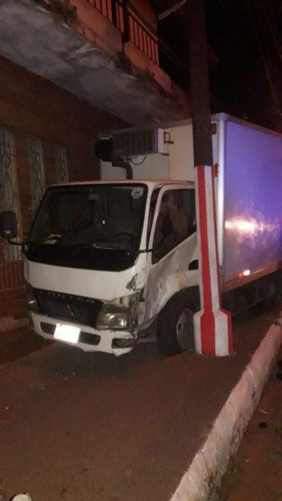 Otro accidente sobre Saturio Rios
