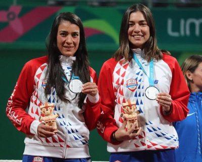 El tenis femenino regala la primera medalla a Paraguay en los Panamericanos