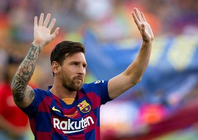 El Barça viaja sin Messi