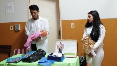 Hernandarias: ofrecen orientaciones sobre lactancia a madres