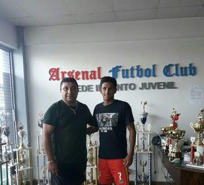 Juvenil paraguayo en el Arsenal
