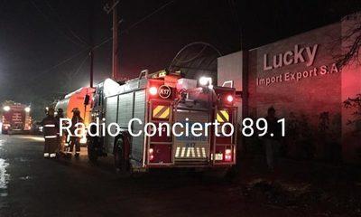 Bomberos controlan principio de incendio en zona del Mercado de Abasto