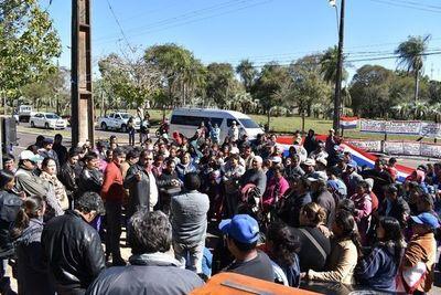 Manifestantes de Ayolas levantaron medida de fuerza