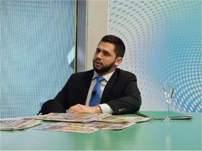 Joselo Rodríguez fue candidato de Añetete  y no tiene matrícula