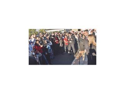 Centrales obreras hacen loas al presidente en Palacio