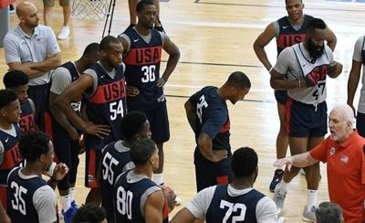 HOY / EEUU, sin estrellas de la NBA, es el gran favorito a revalidar el título