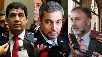 """HOY / Opositores oficializan pedido de juicio político: """"Que hagan rápido"""", arremete Mario Abdo"""