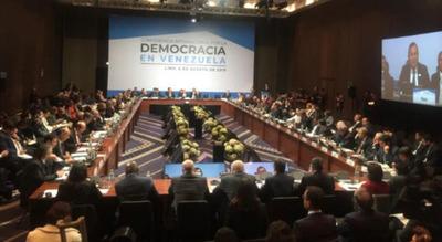 """Inauguran la Conferencia sobre la Democracia en Venezuela: """"Es momento de decisiones"""""""