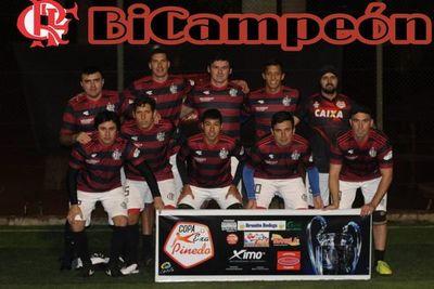 Flamengo y Necaxa, campeones