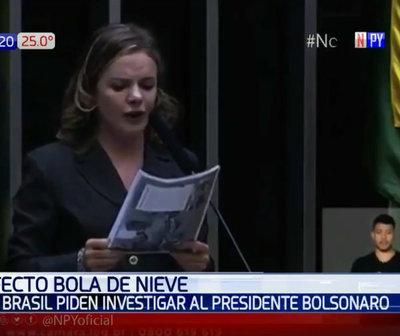 Crisis Itaipú: En Brasil piden investigar a Bolsonaro
