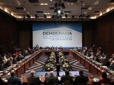 EEUU impone   postura de mano dura con  Venezuela en foro internacional