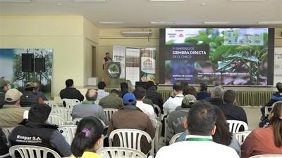 Realizaron simposio sobre beneficios de siembra directa en el Chaco