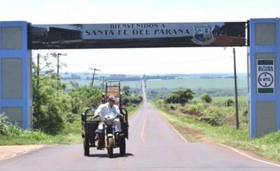 Asfaltarán camino que une Santa Fe, Mbaracayú y San Alberto
