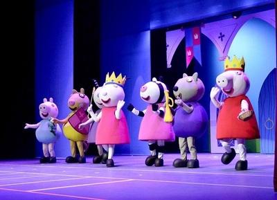 Peppa Pig divertirá a los más chicos en agosto