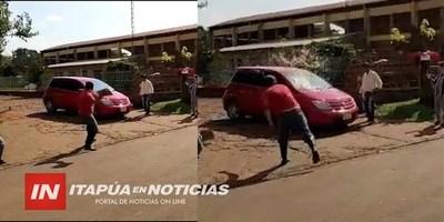 """CONTINÚAN LOS ESCRACHES Y """"HUEVAZOS"""" EN JESÚS"""