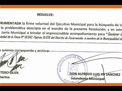 YD PROPONE ANULAR TITULO DE LA FINCA 19942