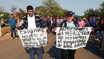 Tras acuerdo levantan cierre de ruta en San Pedro
